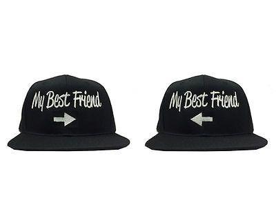 e27b42ad638 New vintage my best friend snapback hat cap black