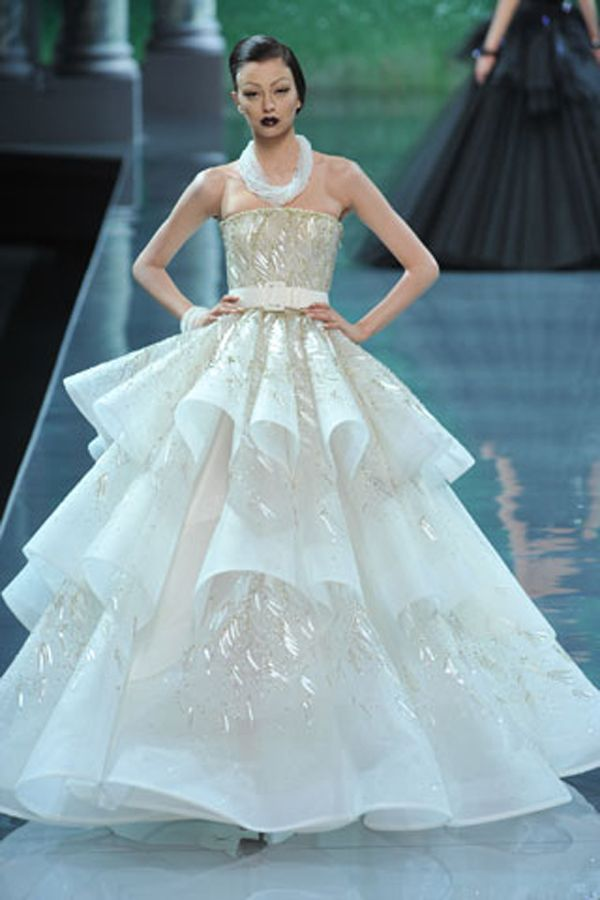 Dior Collection Bridal Gowns