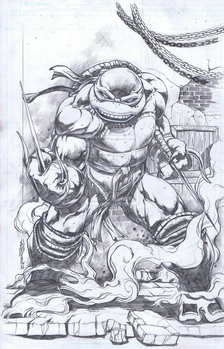 Raphael 2 By Emilcabaltierra On Deviantart Teenage Mutant Ninja