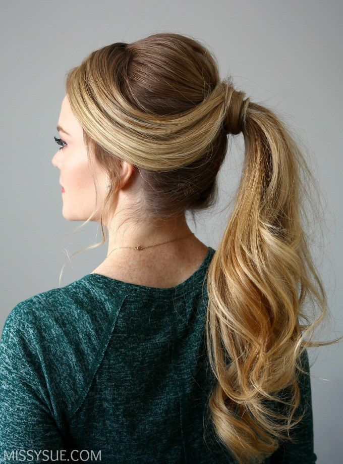 3 Holiday Hairstyles Missy Sue Hair Styles Ponytail Hairstyles Pretty Ponytails