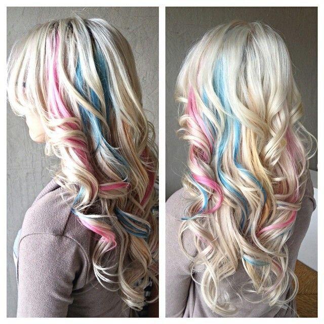 Pastel pink blue highlights hair coloring do that hair pastel pink blue highlights hair coloring pmusecretfo Gallery