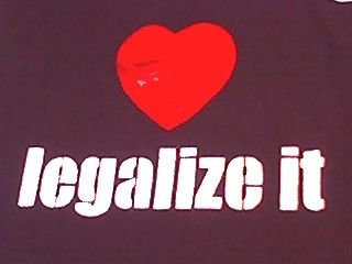 LEGALIZE LOVE by punkpatriot on Etsy, $20.00  I have this shirt and it's awesome - as is The Punk Patriot!