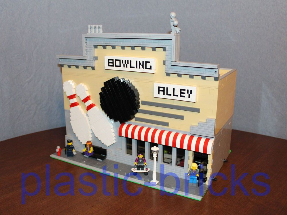 BOWLING ALLEY Custom Instruction Manual_10190_10185_10182_Fits LEGO ...