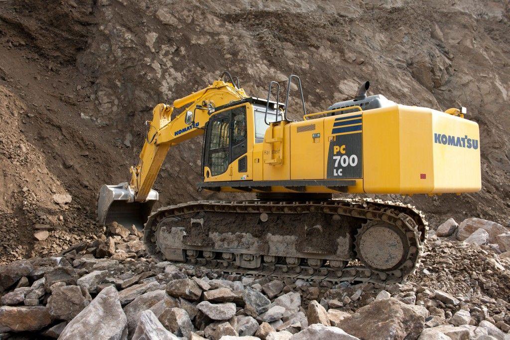 Nuovo articolo del nostro #blog sull' #escavatore cingolato Komatsu PC700LC-8