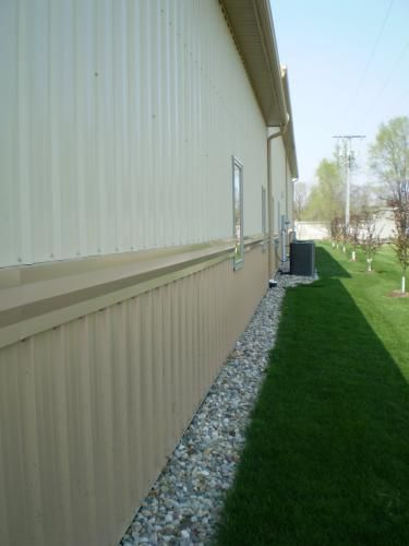 Invisaflow 38 In Channel Guard 7400 At The Home Depot Mobile Mobile Home Landscaping Mobile Home Porch Home Landscaping