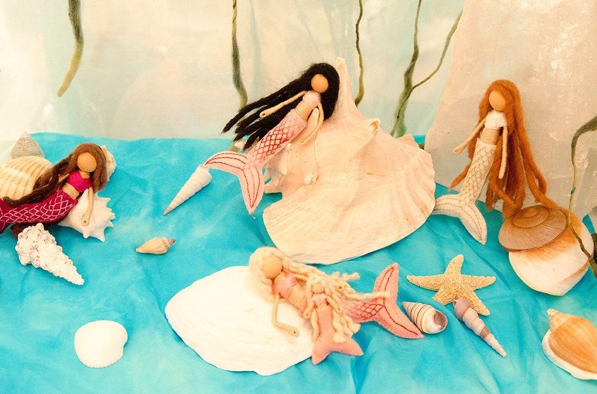 waldorf mermaid bendy doll 3 | Small Folk - Bendy Dolls | Pinterest ...