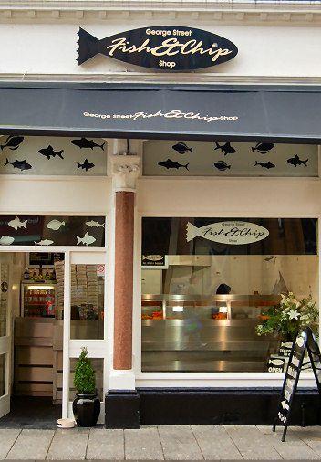 Fish Shop Fish And Chip Shop Fish And Chips Seafood Shop