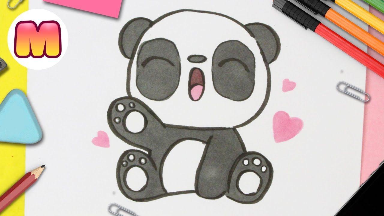 Como Dibujar Un Panda Kawaii Paso A Paso Dibujos Kawaii Faciles Dibujos Kawaii Dibujos Kawaii Faciles Panda Kawaii