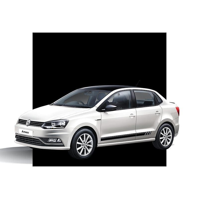 The Volkswagen Ameo Black White Edition Is Designed To Impress Volkswagen Mumbai Volkswagen Visakhapatnam New Cars
