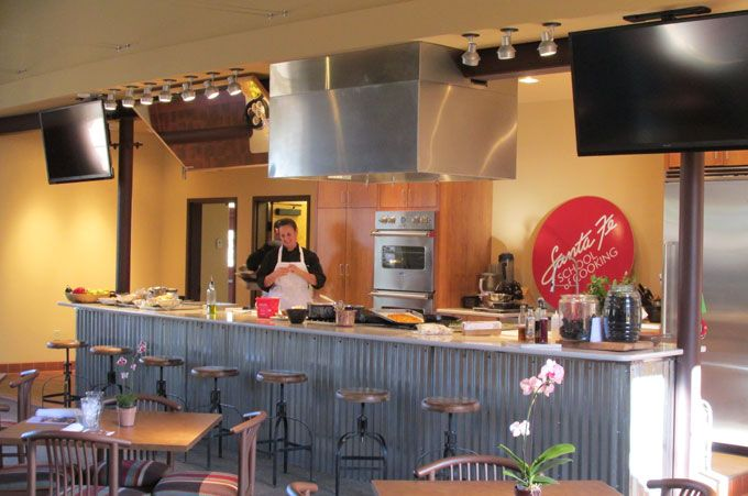 Demonstration Kitchen Layout commercial kitchen and restaurant renovation in santa fe, new