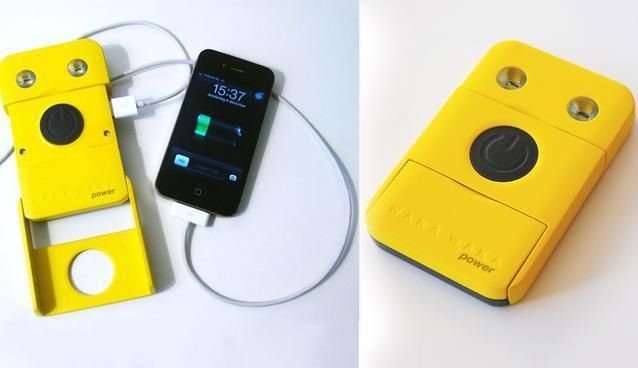 Smartphone and Tablet charger that uses the sun to charge.