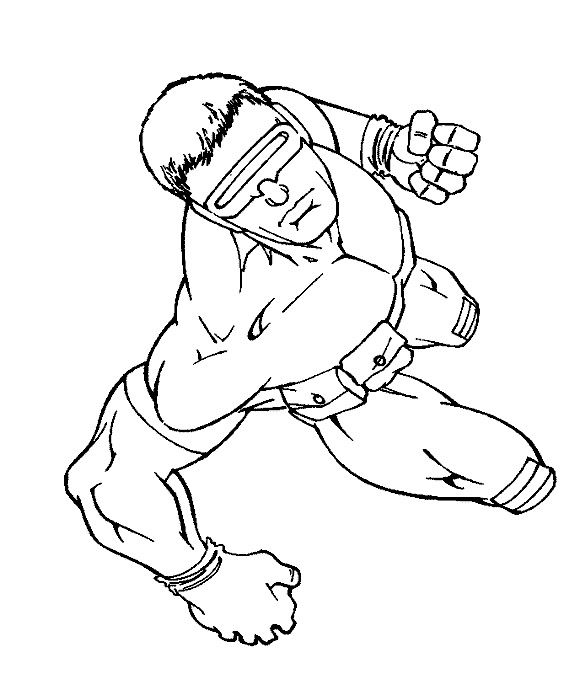 Cyclops X Man Coloring Pages ในป 2020