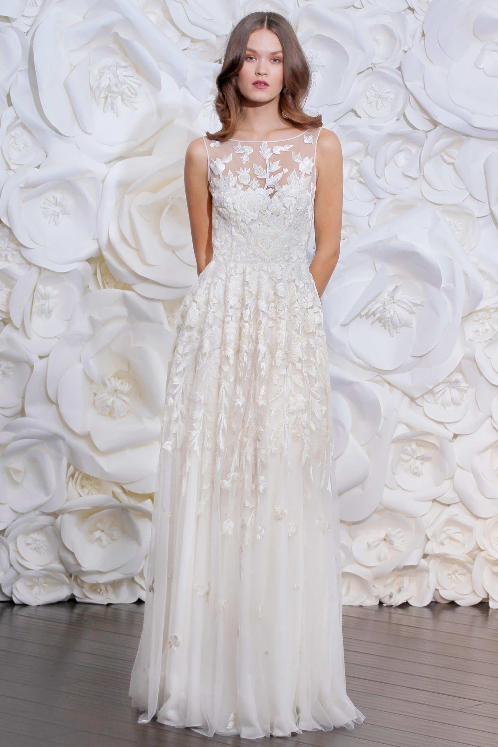 Naeem khan naeem khan fall and wedding dress