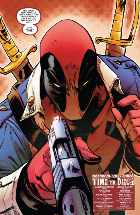 Deadpool Vs X Force 1 Deadpool Comic Marvel Deadpool Deadpool Art