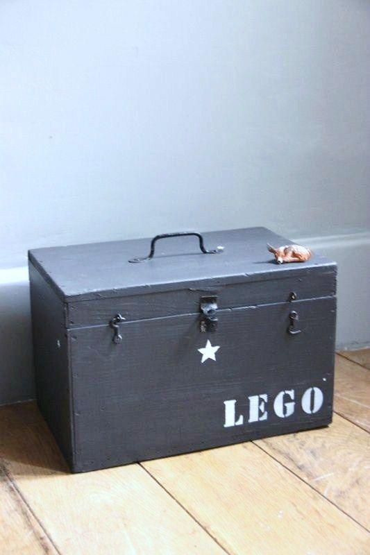 Deze Zou Ik Wel Willen Hebben Voor Alle Lego Van J Caisse Rangement Rangement Lego Coffre A Jouets