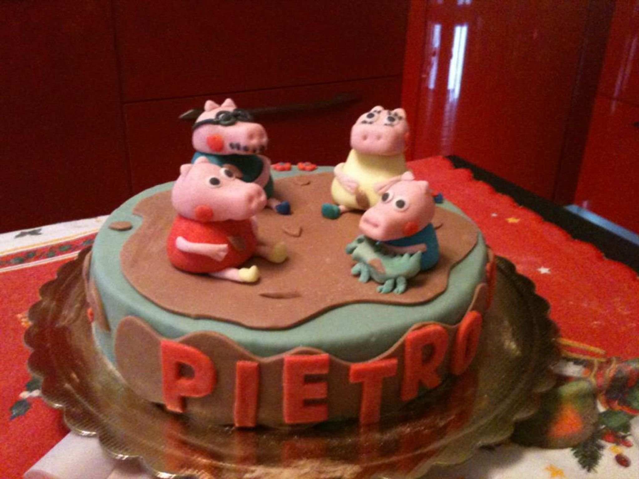Peppa pig cake _2
