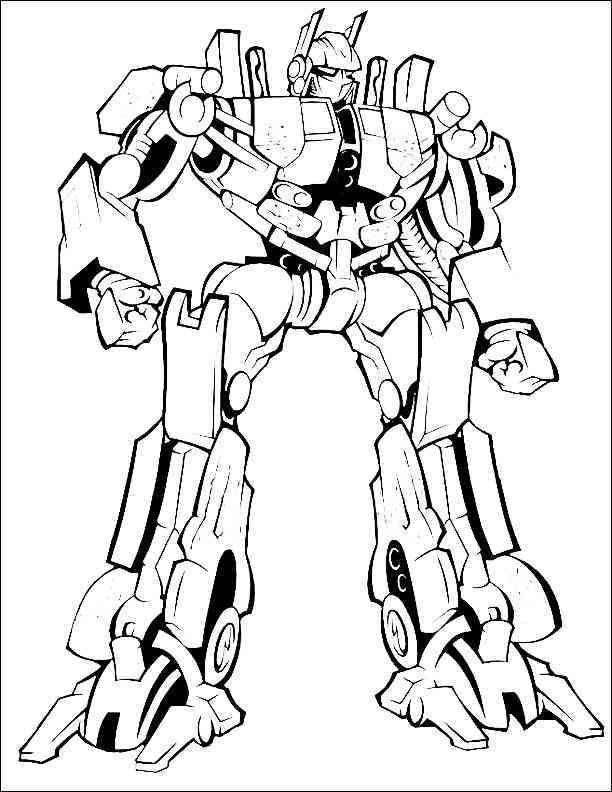 Ausmalbilder Transformers 05   Malvorlagen für jungen ...