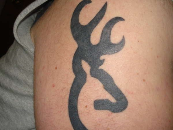 browning tattoo love that color pinterest browning tattoo and rh pinterest com browning buck tattoo designs Country Girl Tattoos for Women