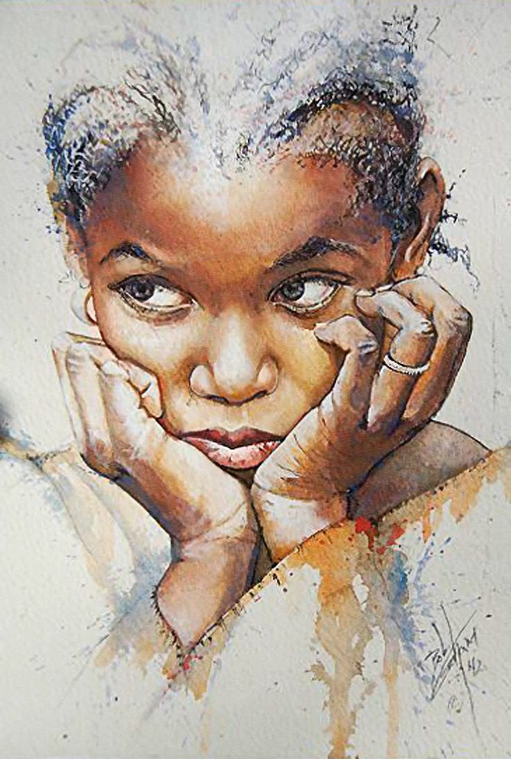 """""""Little Girl with Braids"""" Bob Graham won the 2012 State"""
