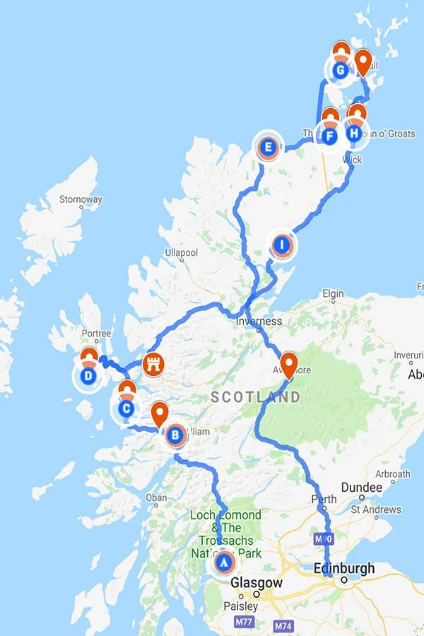 19 Unmissable Places To See In Scotland Plan Your Road Trip Now Perfect Road Trip Scotland Road Trip Scotland Travel