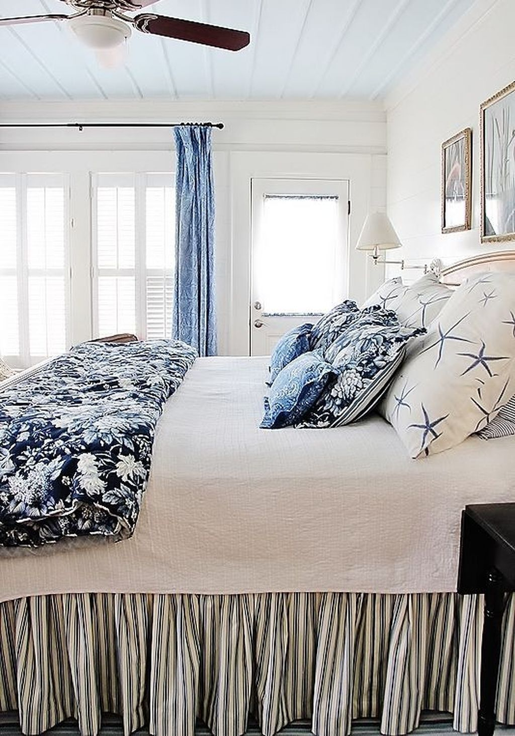 30 Awesome Beach Coastal Style Bedroom Decor Ideas Coastal Style Bedroom Bedroom Design Home Decor
