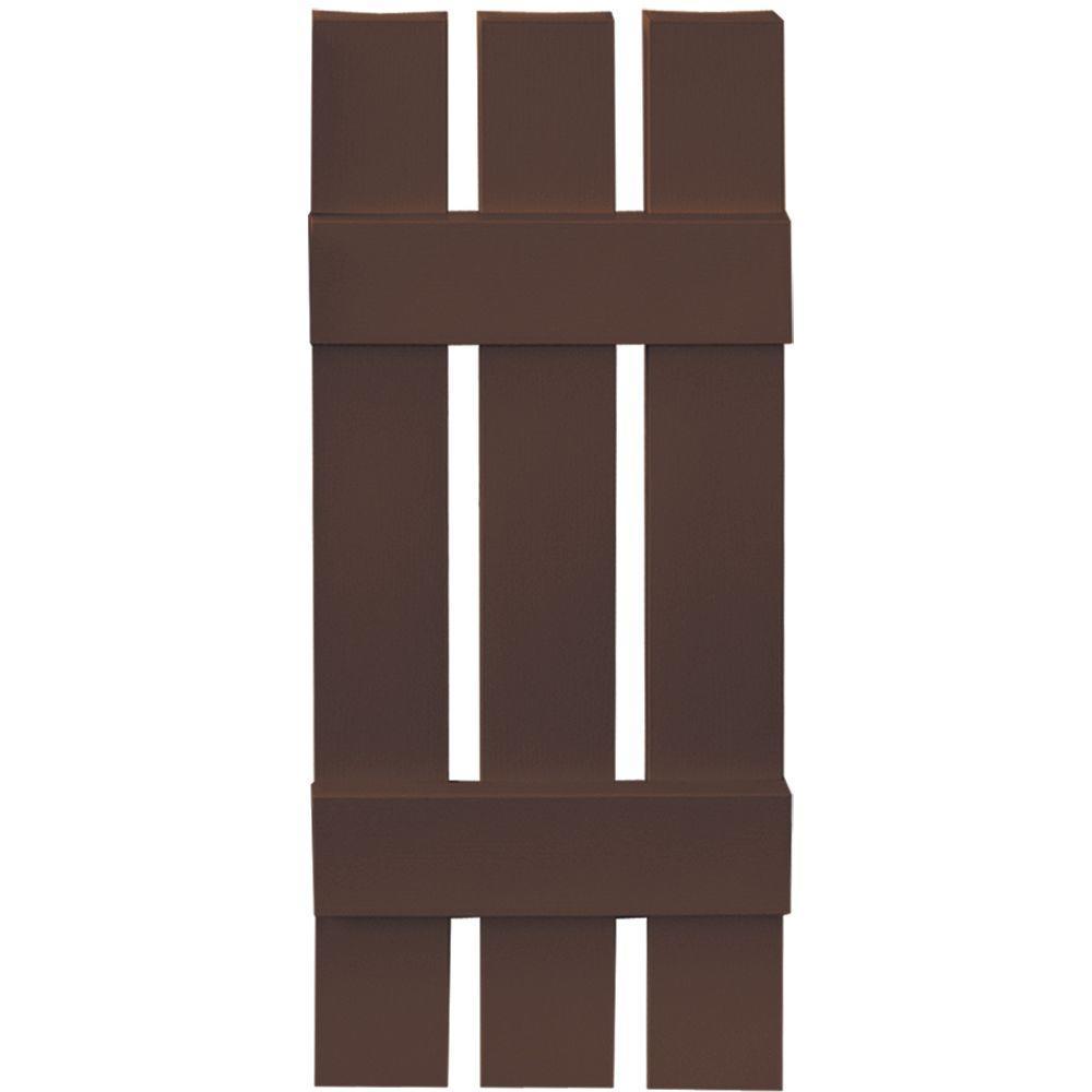 Builders edge in x in boardnbatten shutters pair boards