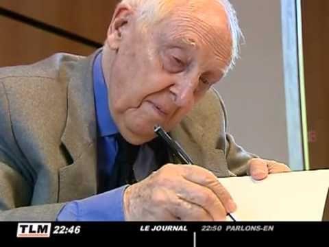 Daniel Cordier reçoit le prix littéraire de la Résistance - Cercle Jean Moulin