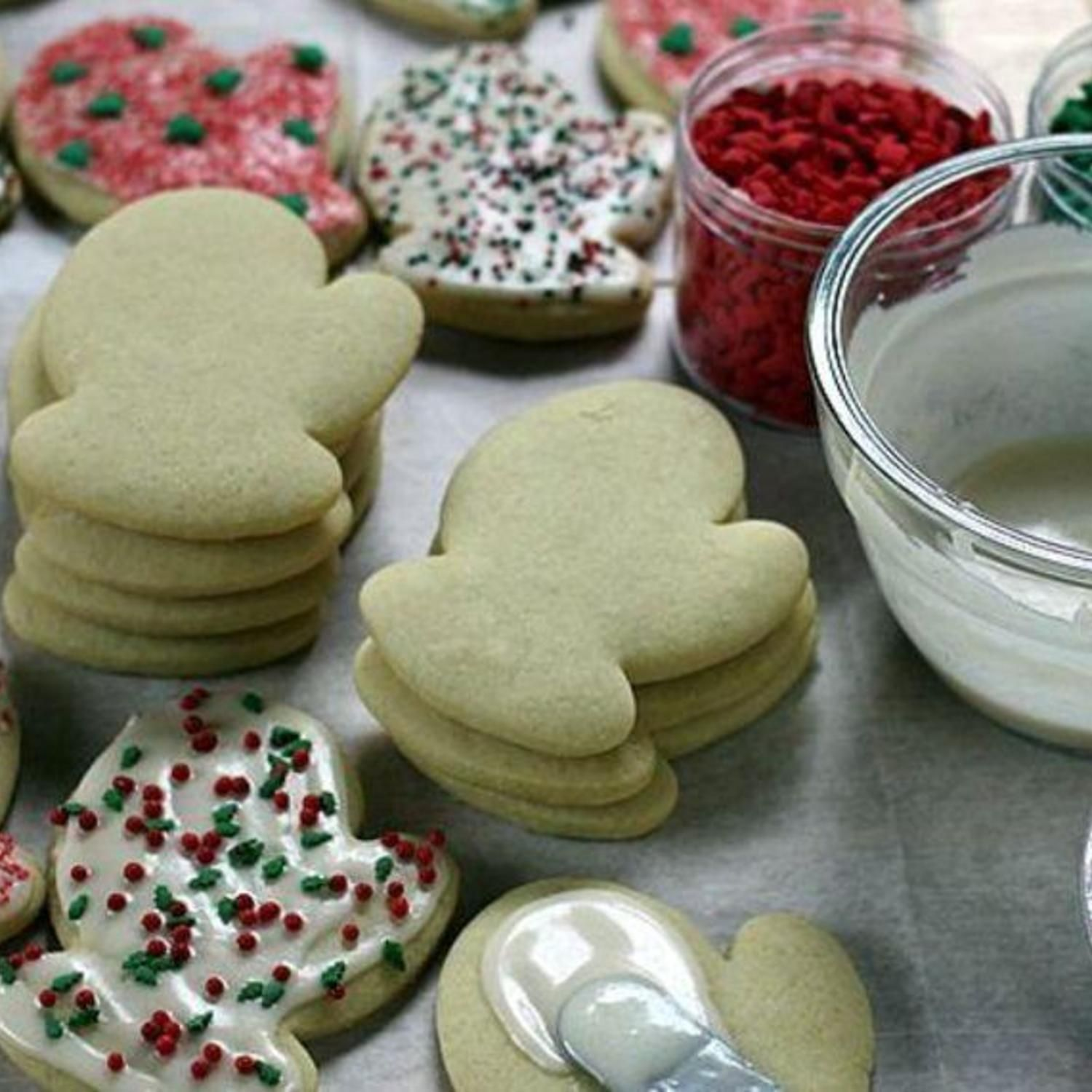 Awesome Sour Cream Sugar Cookies With Frosting Recipe Sour Cream Sugar Cookies Sugar Cookies Recipe Best Sugar Cookies