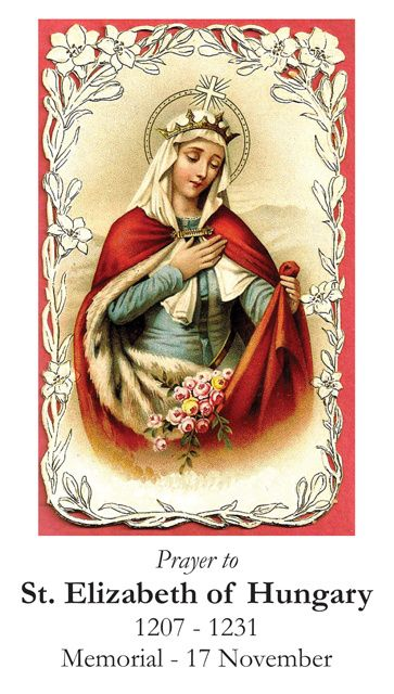 Pictures Of Saint Elizabeth Of Hungary