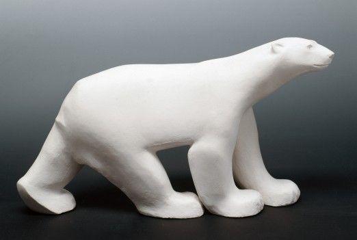 sculpture ours polaire
