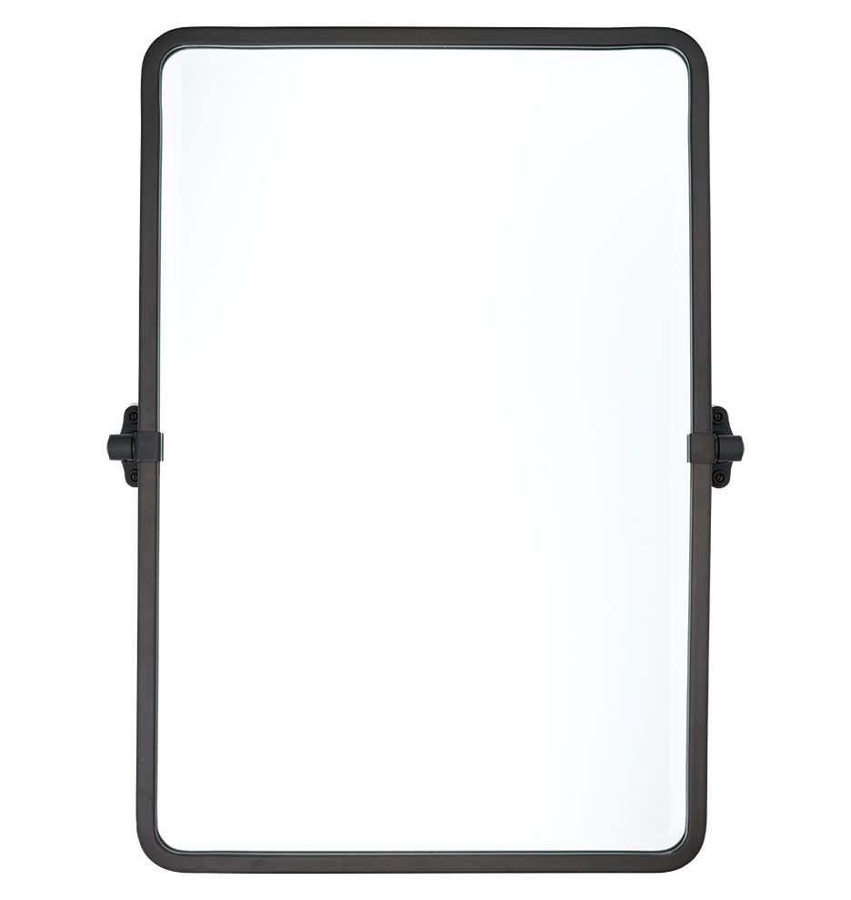 tolson rounded rectangle pivot mirror | rounded rectangle