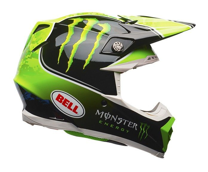The Bell Moto 9 Helmet Features A Composite Tri Matrix Shell Construction That Is Extremely Lightweight And Is Designed To M Motocross Helmets Helmet Bell Moto