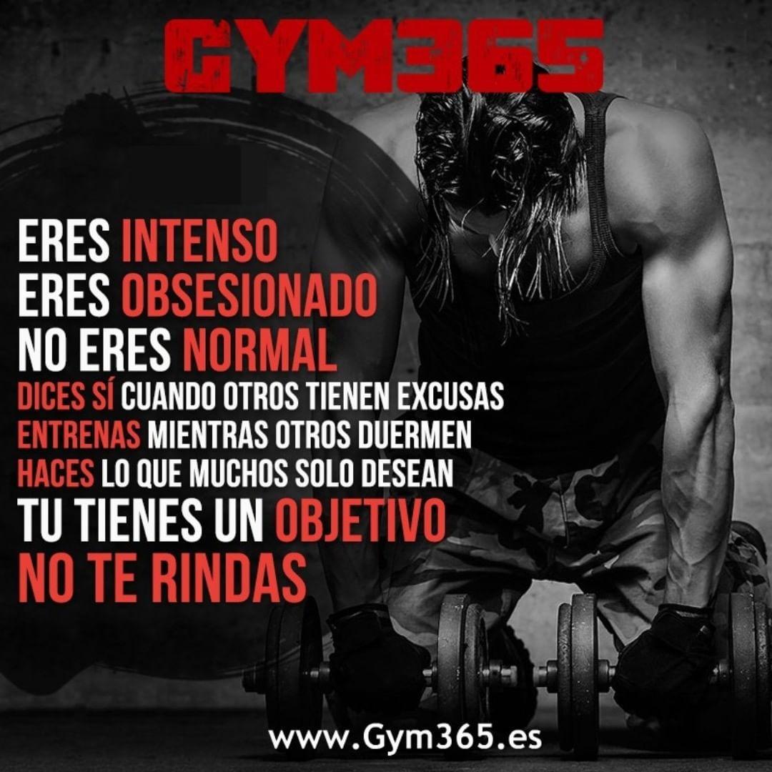 31 Me Gusta 1 Comentarios Gym365 Gym365oficial En Instagram Eres Intenso Eres Obsesionado No Er Fitness Motivación Intenso Aumentar Masa Muscular