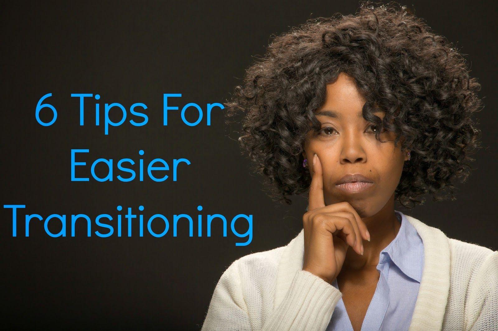 tips for easier transitioning natural hair care tips pinterest