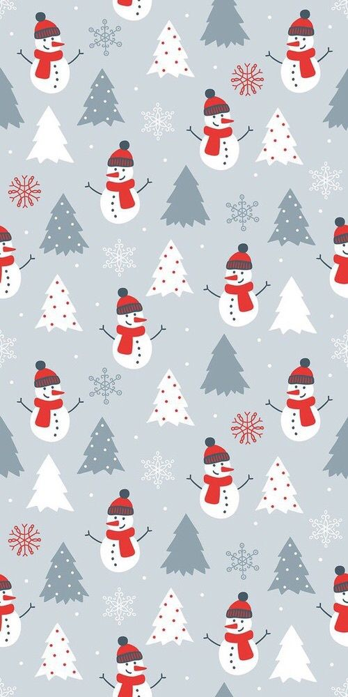 25 Free Christmas Wallpapers for iPhone - Cute and Vintage Backgrounds #winterbackground