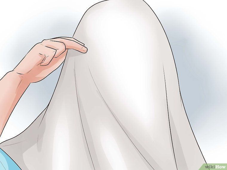 Make a Ghost Costume #deguisementfantomeenfant