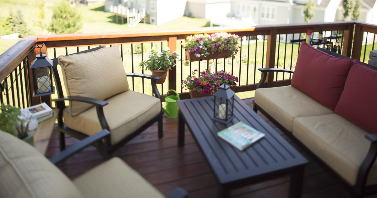Utilize all parts of your deck with railing accessories by