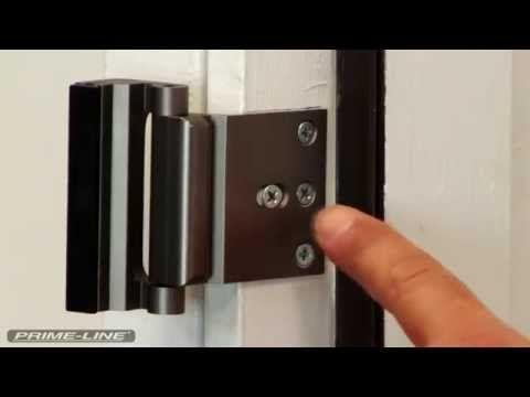 Door Barricade Nightlock Home Security Door Brace Youtube