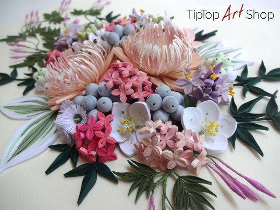 Passion Flower Quilling Artofit