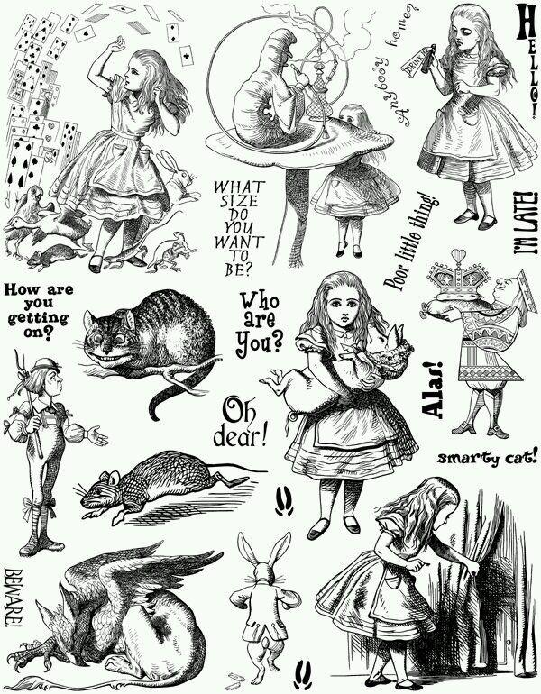 Алиса в Стране Чудес – 41 photos | VK | ALICE IN WONDERLAND in 2019 ...