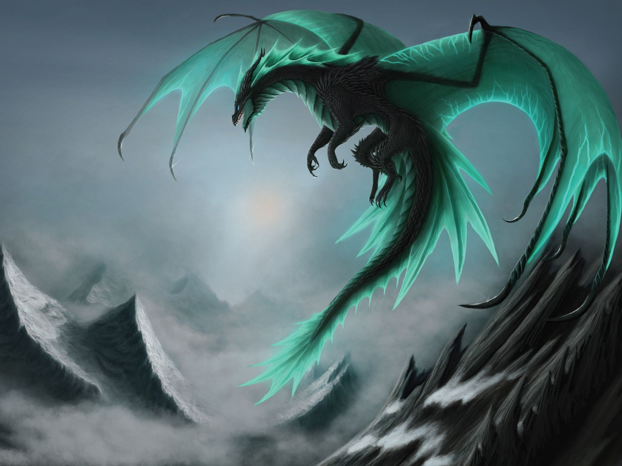 Free And Stunning Dragon Wallpaper Collection Graphicloads 2000x1500