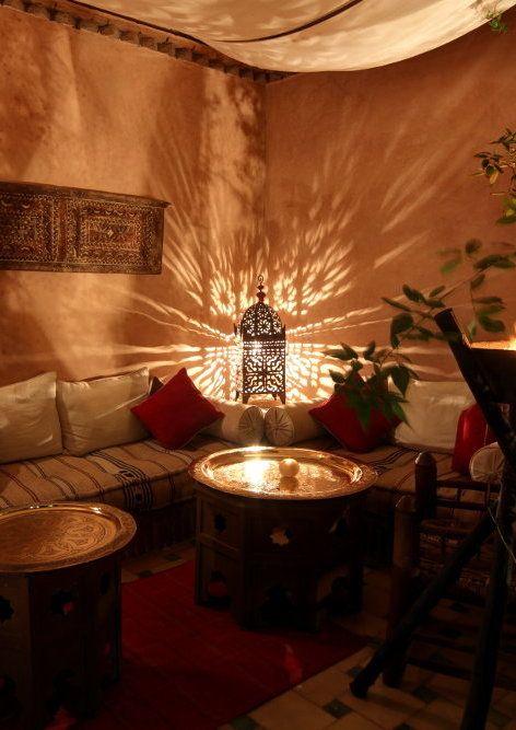 Riad jona marrakech decoraci n islamica pinterest decoraci n marroqu decoraci n rabe y - Decoracion marruecos ...