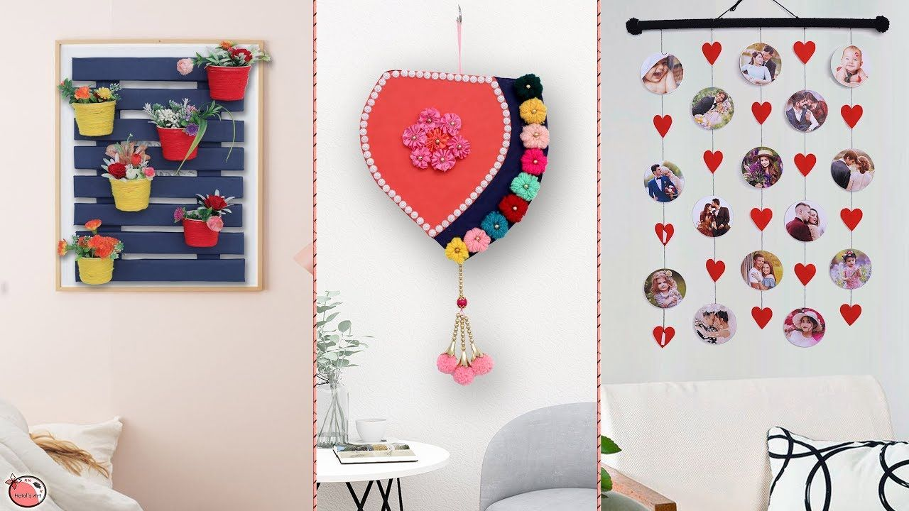 7 Beautiful Ideas For Your Home Decoration Craft Ideas