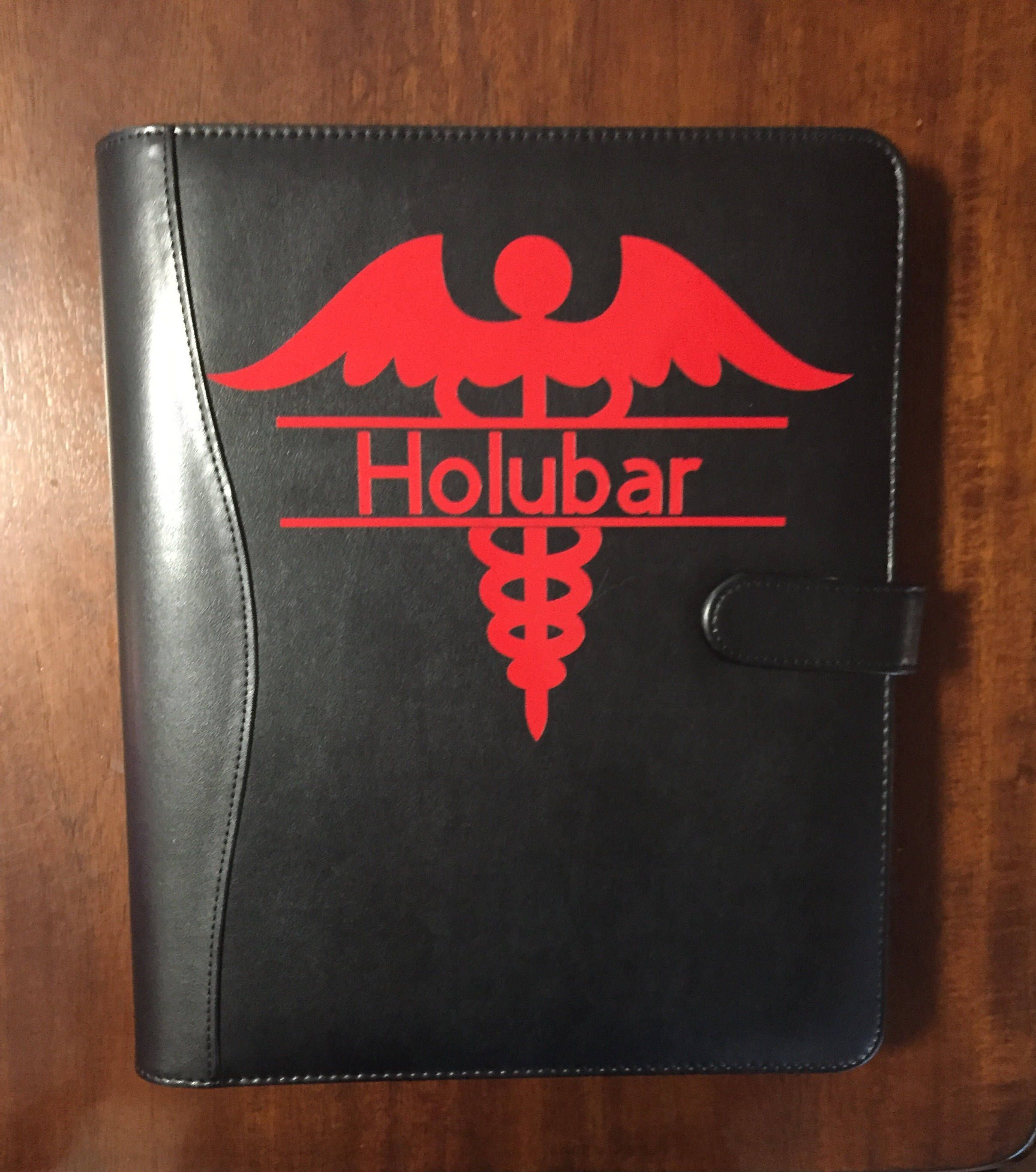 Leather Resume Portfolio Custom Medical Portfoliopadfolio Faux Leather Professional .