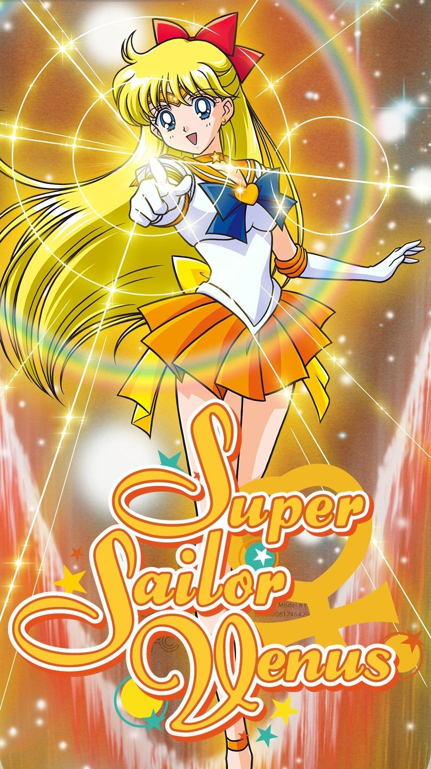 Super Sailor Venus Sailor Moon Usagi Sailor Moon Pin Sailor Moon Wallpaper