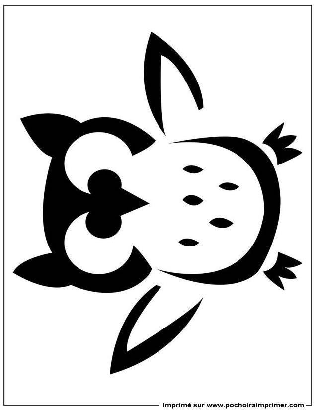 Imprimer le pochoir pochoir citrouille chouette pochoir citrouille modele citrouille et - Pochoir gratuit a imprimer ...