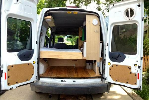 2010 Ford Transit Connect Camper For Sale In Boulder Colorado