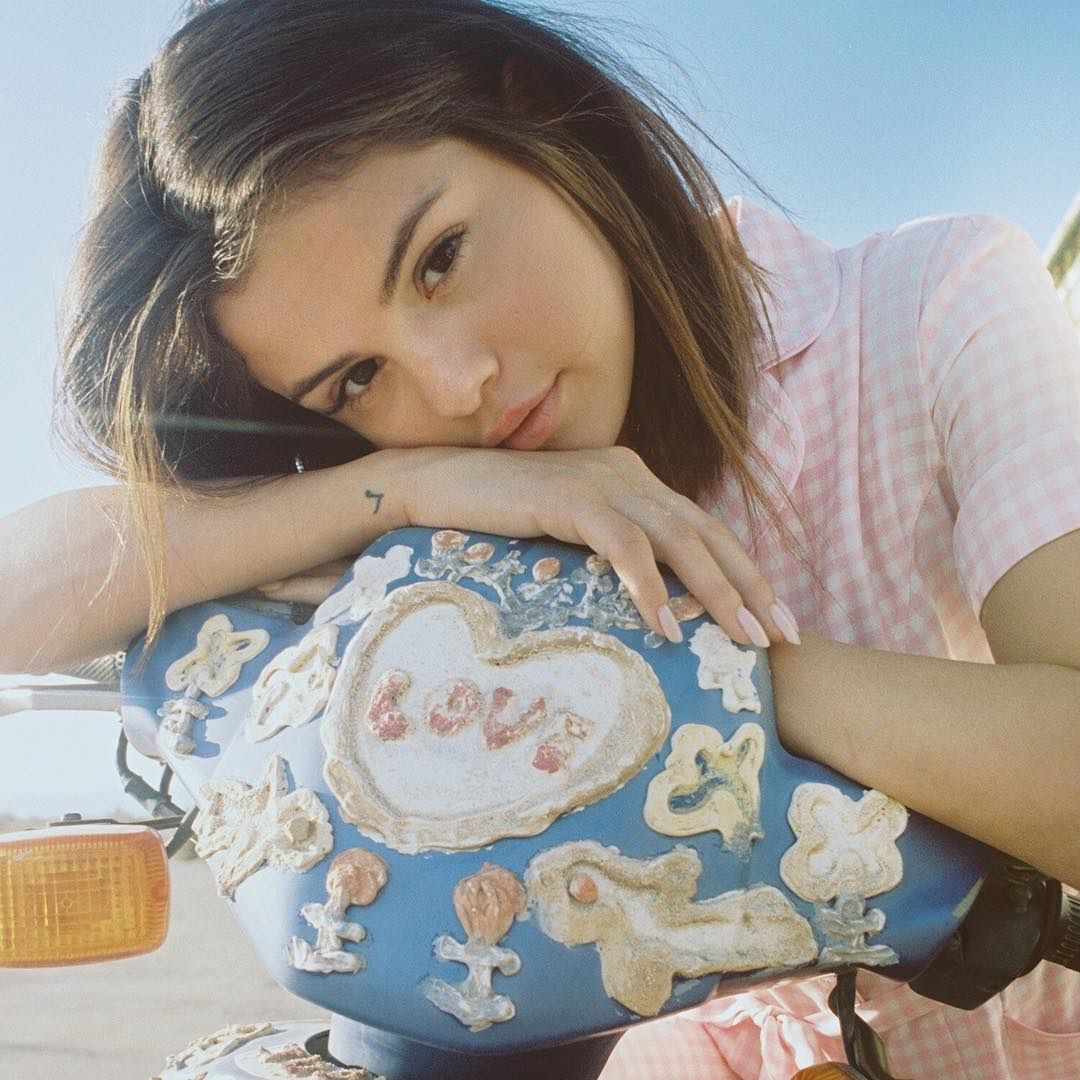 Selena Gomez in the promotional photoshoot for