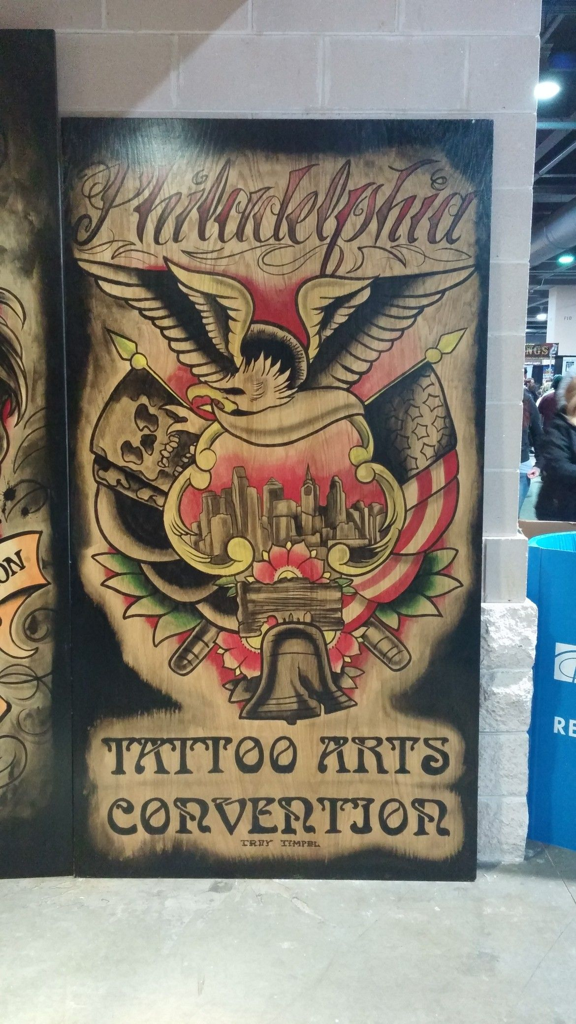 Phiilys tattoo convention book cover frey art