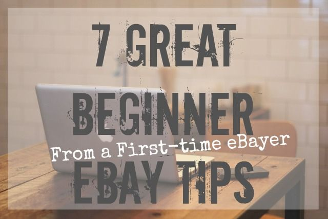 eBay Tips from a First-Time Seller | From Rt 1 US 1 | Ebay